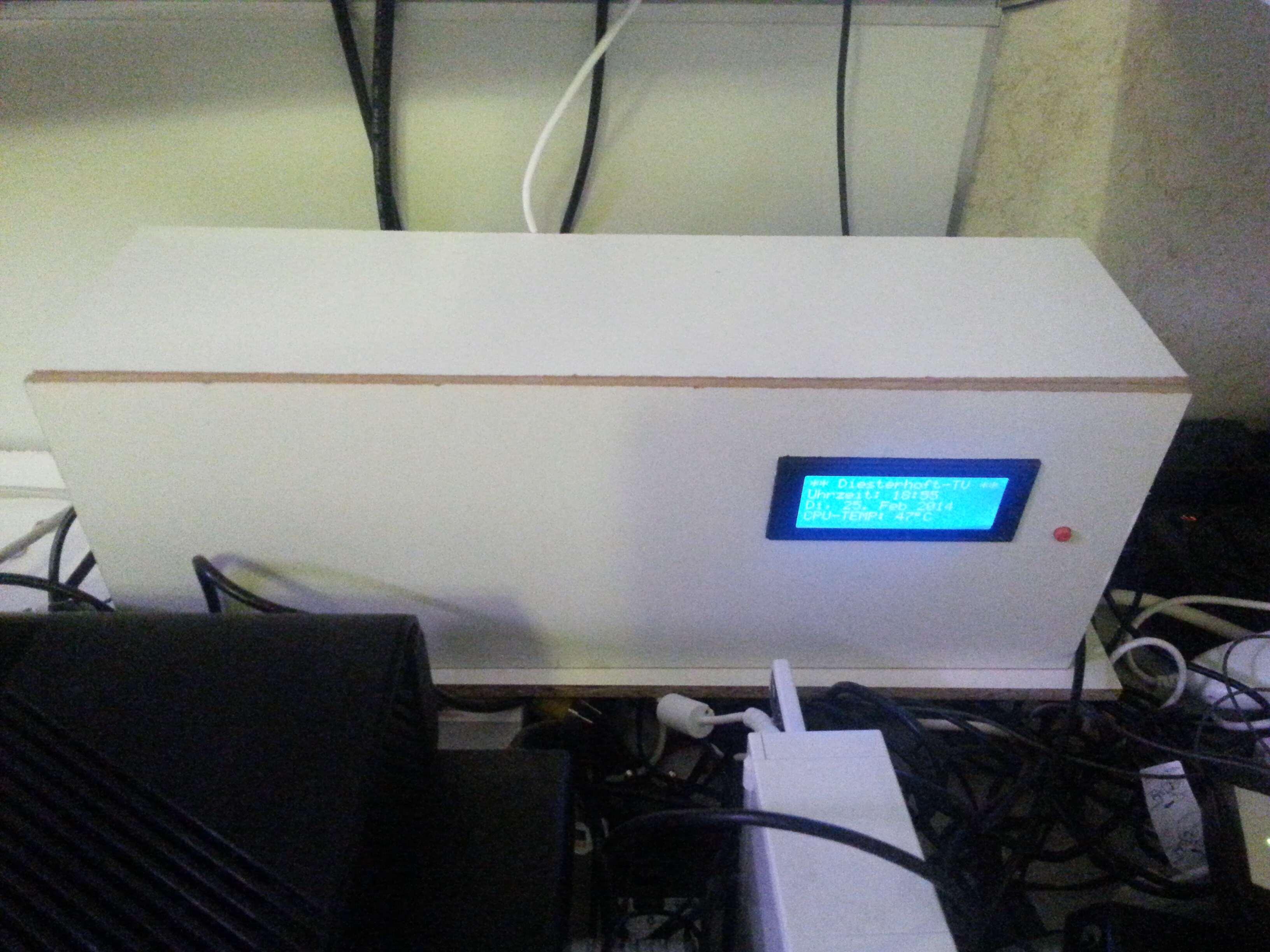 Gehäuse für die XBMC-Raspberry