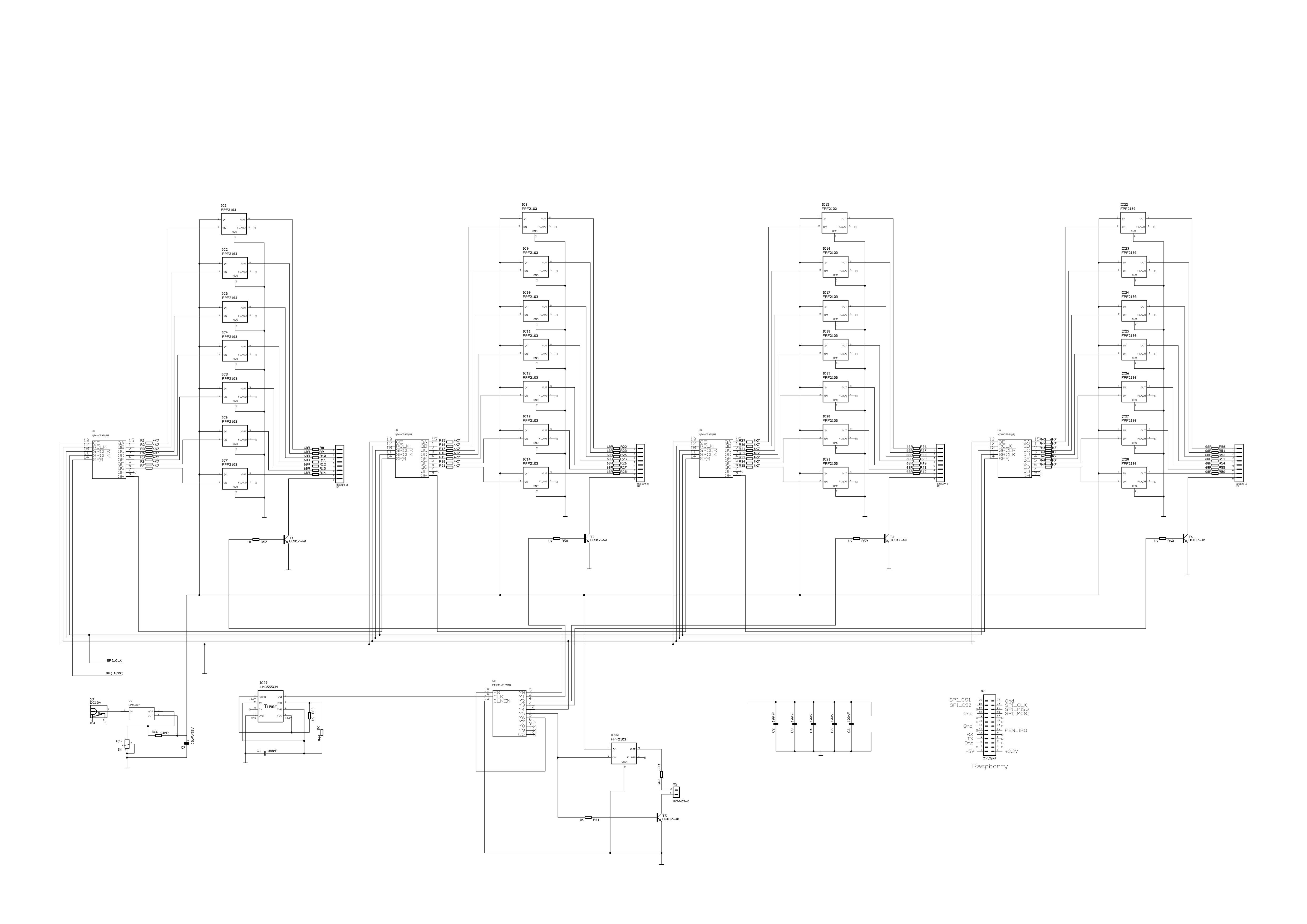 LED-Uhr – Michael Diesterhöft